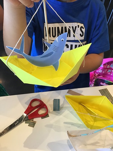 Paper boat craft | by Christchurch City Libraries