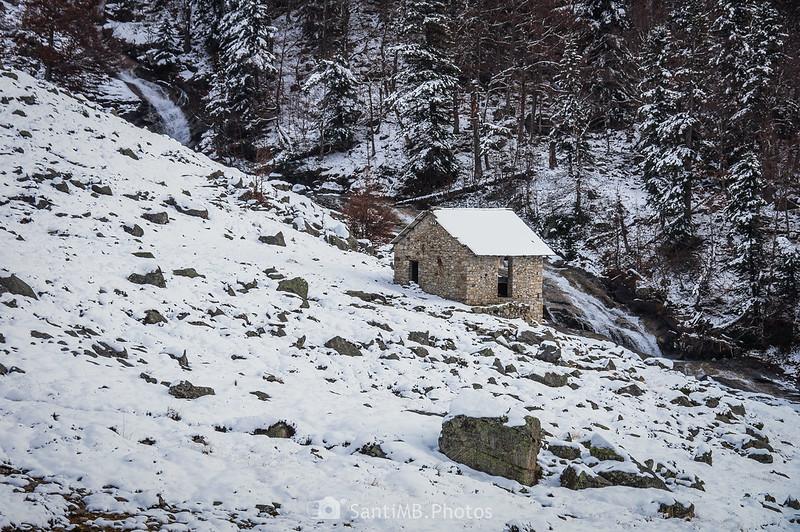 Cabaña junto al Ribèra de Conangles