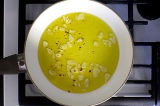 garlic, oil, pepper flakes | by smitten kitchen
