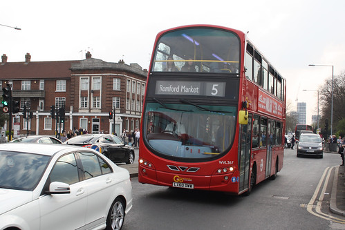 Go-Ahead London WVL367 LX60DWW