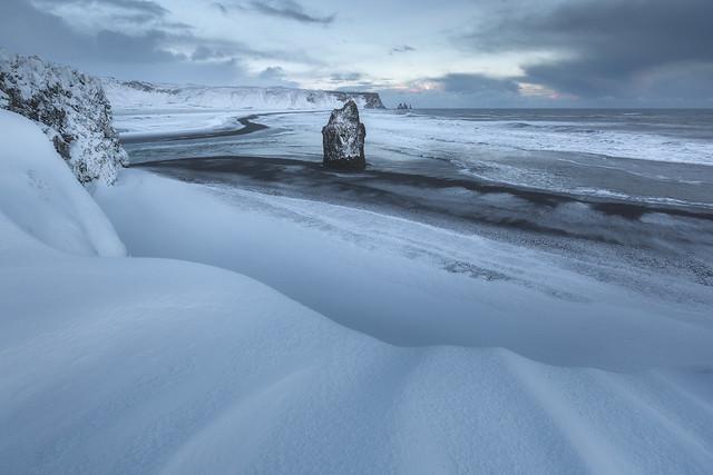 Winter at Dyrholaey