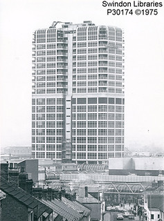 1975: The David Murray John building (DMJ), Swndon | by Local Studies, Swindon Central Library