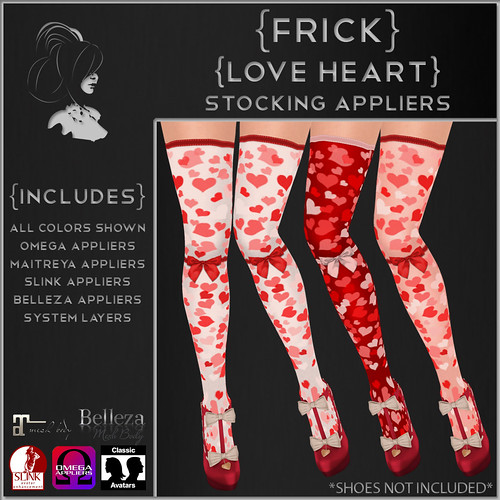 {Frick} Love Heart Stocking Appliers | by {Frick}
