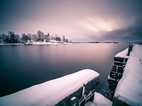 photo landscape finland city helsinki clouds luoto snow house travel nature photography island sky seascape sunrise europe geotagged sea uusimaa fi onsale