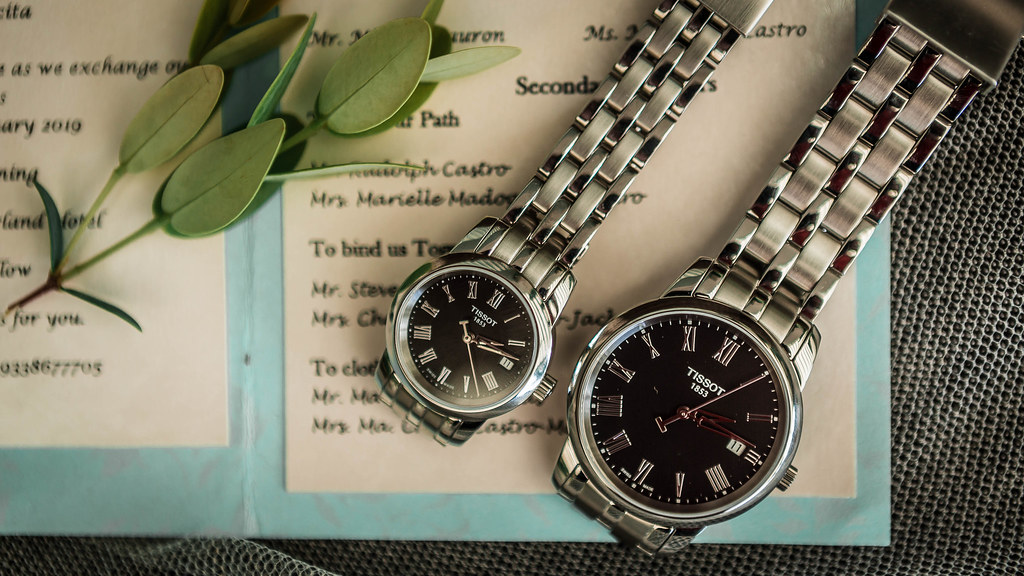 Wedding Watches his and hers watches Couple's watches on a wedding invitation | Marco Verch | Flickr