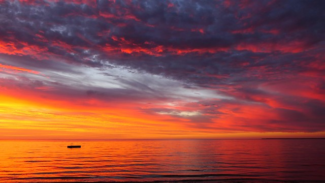 Sunrise over the Sea, Port Clinton, South Australia
