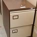 Two door filing cabinet E75