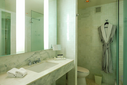 Countertop and bathrobe | by A. Wee