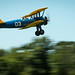 Dave Brown takes off in his PT-17 Stearman biplane before performing aerobatics at the Flying Circus Aerodrome and Airshow in Bealeton, Va., Jul. 30, 2017. (U.S. Air Force photo by J.M. Eddins Jr.)