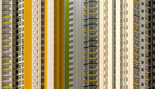 wallpaper white texture telephoto tamron150600 yellow urban outside outdoor artistic abstract architecture sunrise sunriselight day detail geometric goldenhour hongkong january kowloon minimalism nicelight clear housingestate skyscrapers 2019