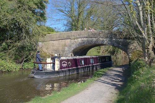 Under a canal bridge at Preston | by Tony Worrall