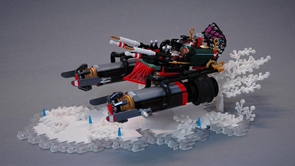 Santa's Dieselpunk sled
