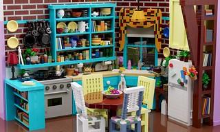 Friends — Monica's kitchen | by aukbricks