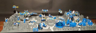 Scattered city in microscale on the Moon - all01 | by goldsun19731