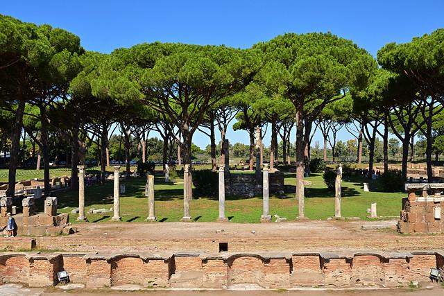 Rome / Ostia Antica / Corporation square / Ceres Temple