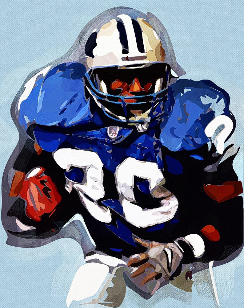 Barry Sanders - Detroit Lions HOF RB 4