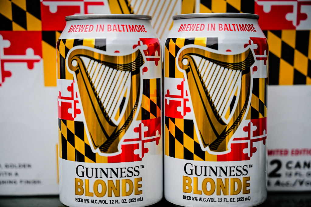 can maryland guinness blonde