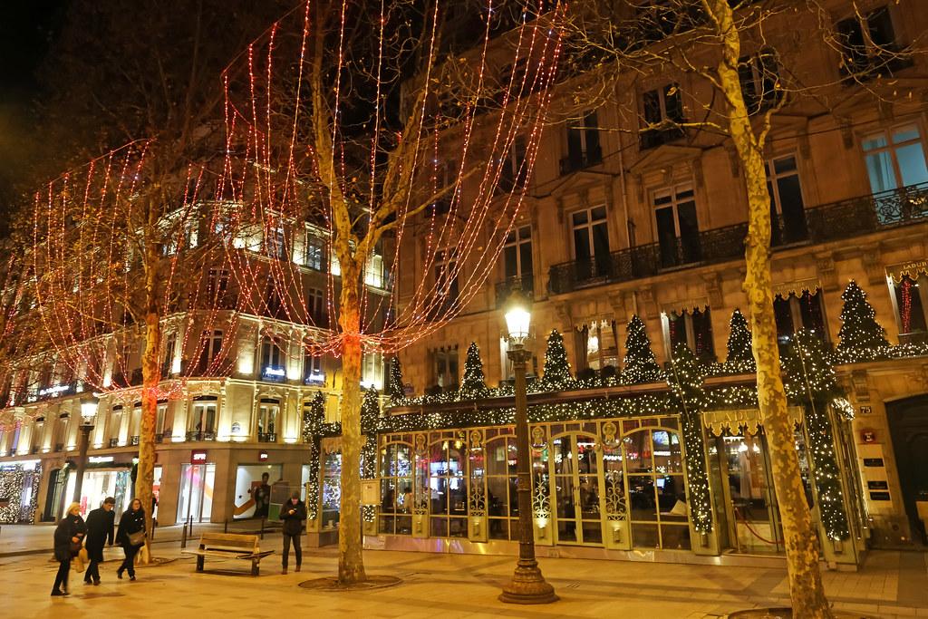 Avenue Des Champs Elysees Paris France Avenue Des Cham Flickr