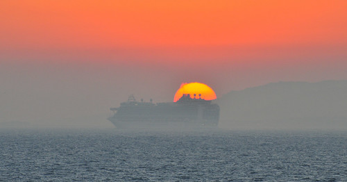 Cruising into the sunset (Explored) | by M McBey