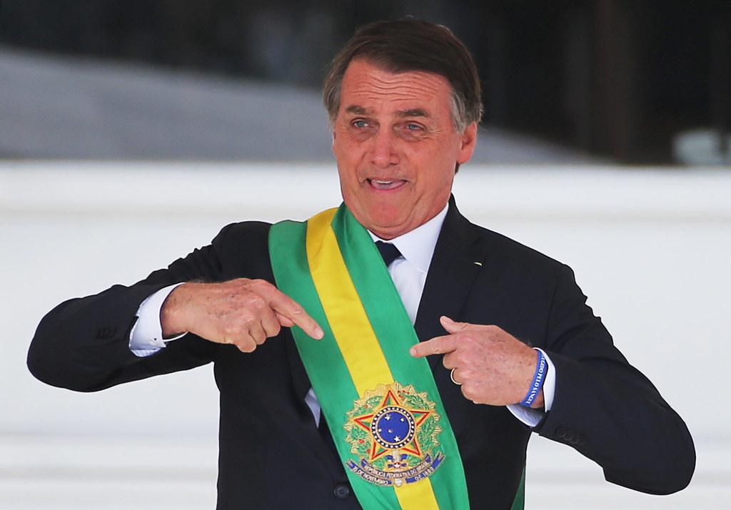 Bolsonaro, posse