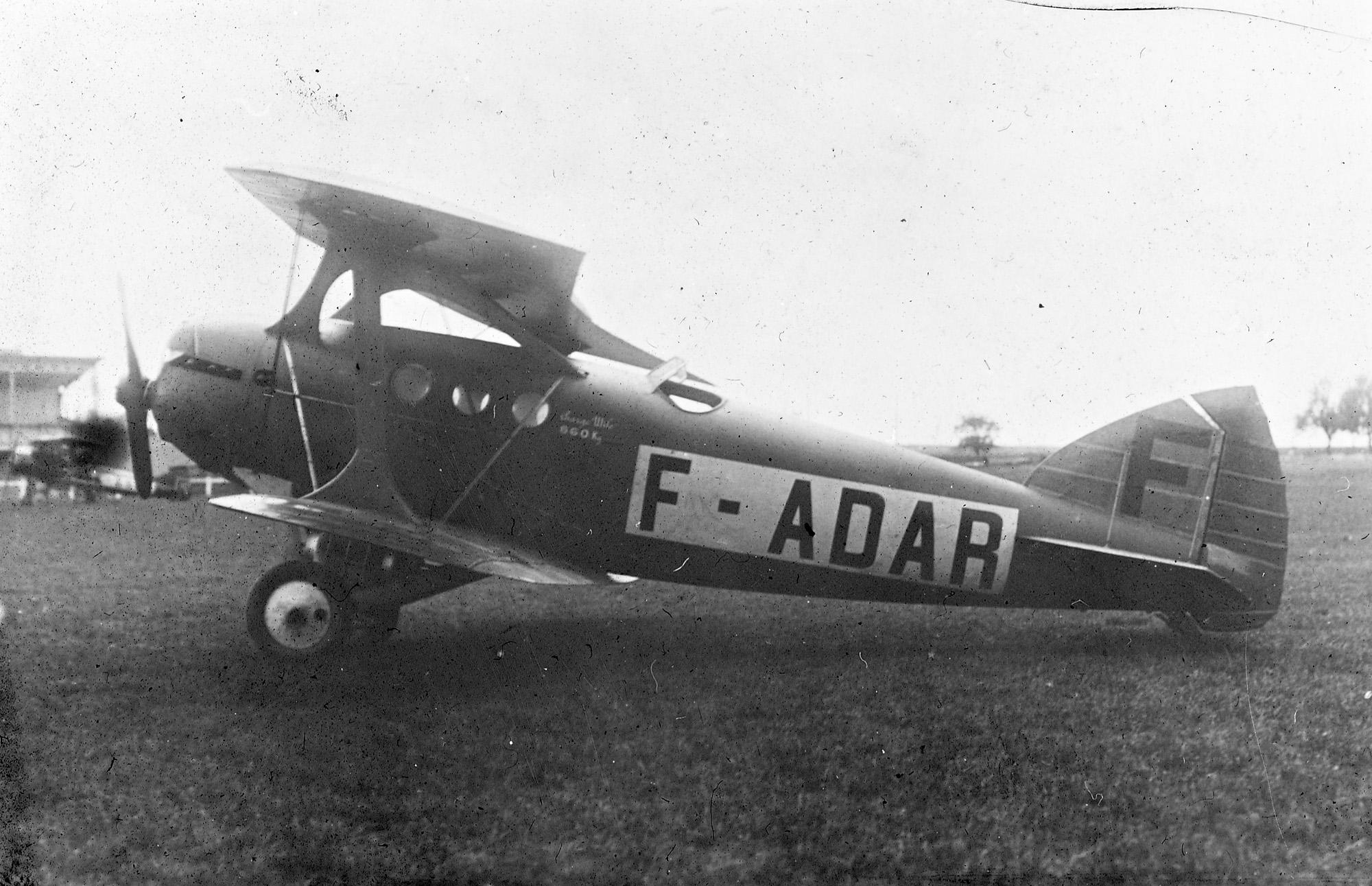 F-Adar: Bleriot Spad No. 46