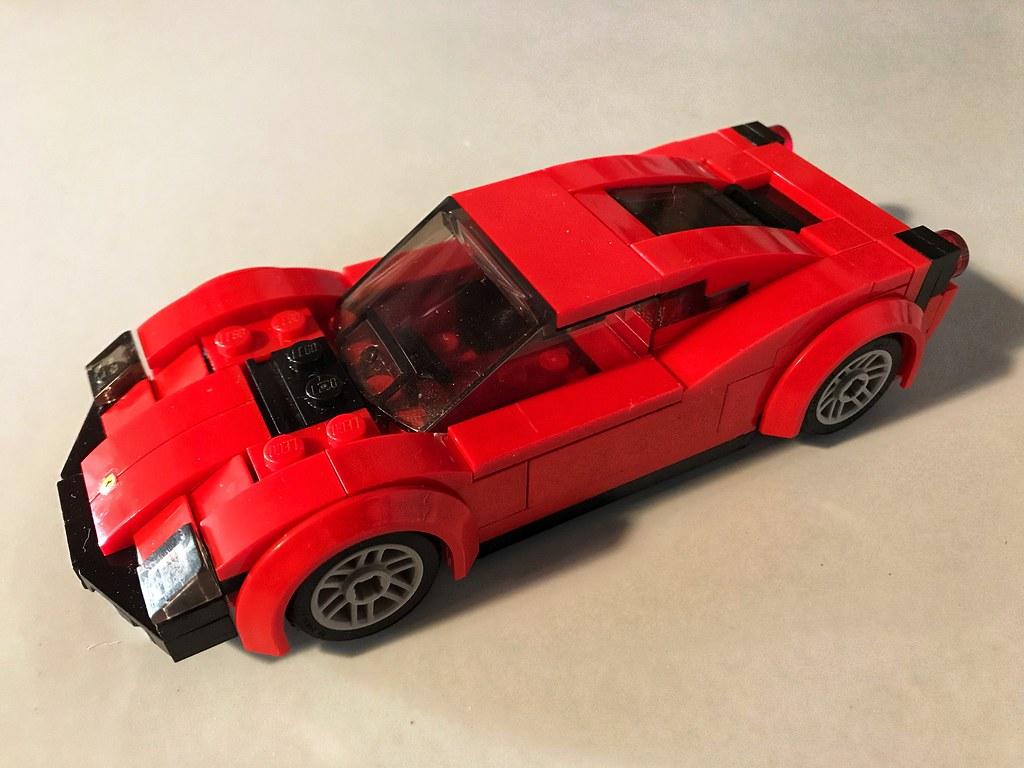 Lego Ferrari 458 Inspired By Www Flickr Com Photos Protot Flickr