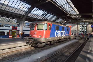 SBB Re 4/4 421 392 Zurich Hbf   by daveymills37886
