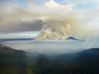 Mt. Solitary Ablaze I