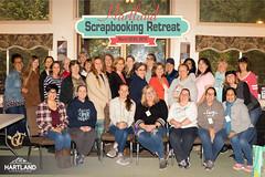 Scarpbooking Retreat Group Photo