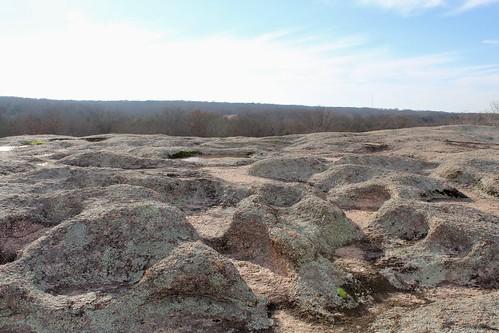 oklahoma tenacrerock tishomingo granite monolith precambrian rock bedrock outcrop geology