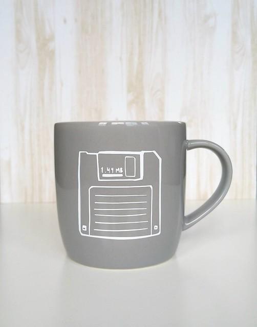 Floppy Disk Mug