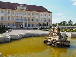 Schloss Hof fountains