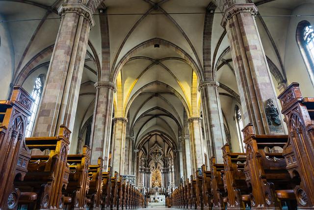 Bolzano cathedral interior