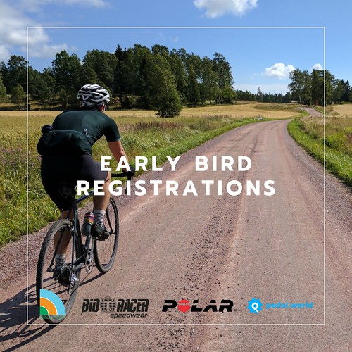 Early Bird registrations | by Mr M'kay