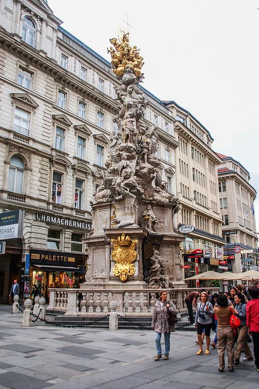 黑死病紀念柱(Plague column, Vienna) 4