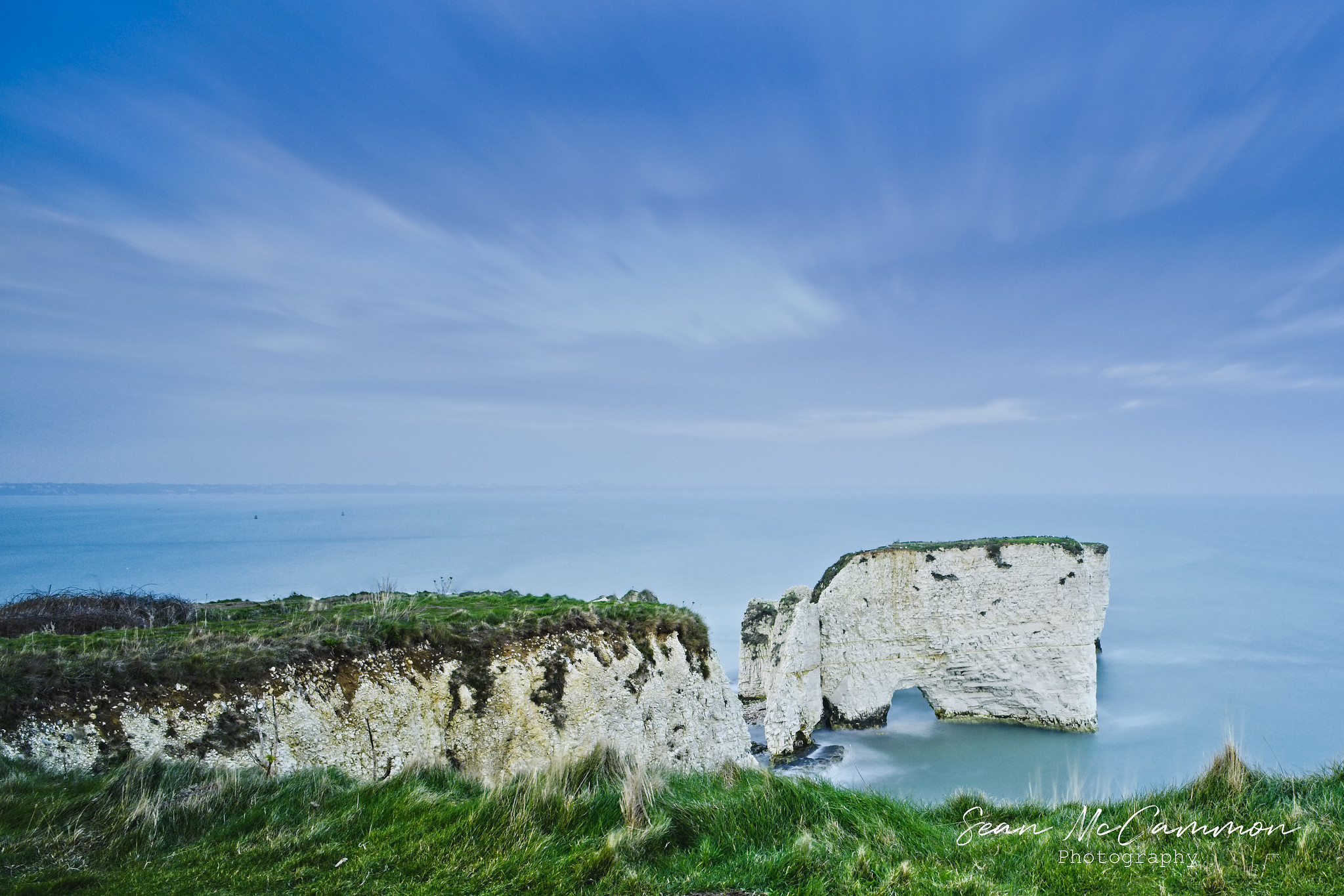 Long Exposure At Old Harry's Rock