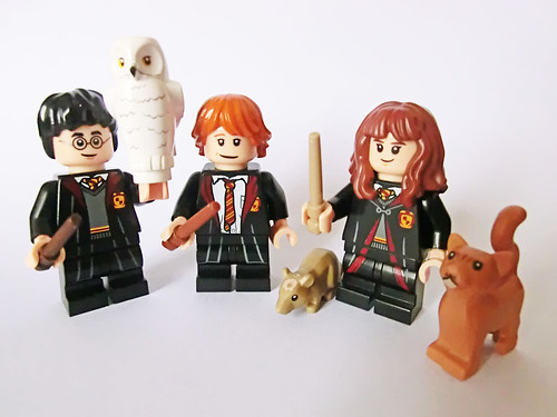 Harry, Ron & Hermione (third year) | by Ptéra