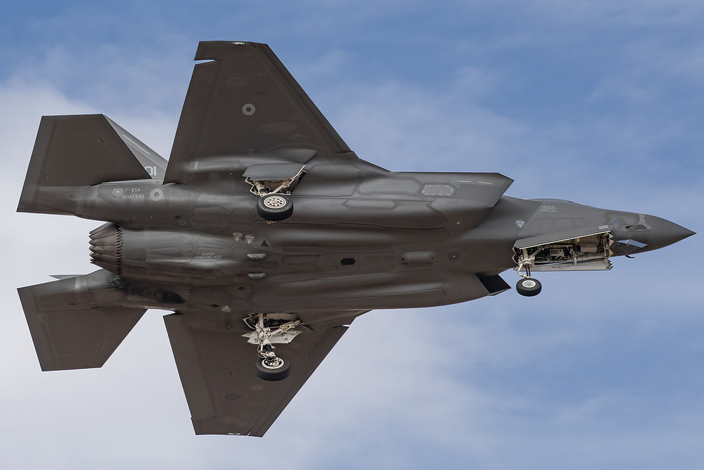 ITAF Lockheed F-35A Lightning II MM7332 / 32-01 / 12-5062