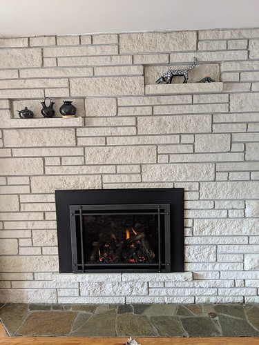 Kozy Heat Roosevelt 34 w/Titanium Prairie Screen Front. | by Thompson's Hearth & Home