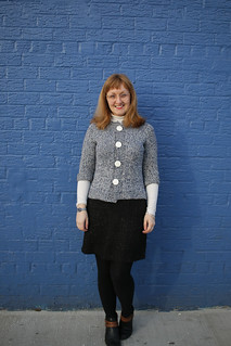 Hannah Fettig Trail Jacket in West Yorkshire Spinners Croft yarn | by English Girl at Home