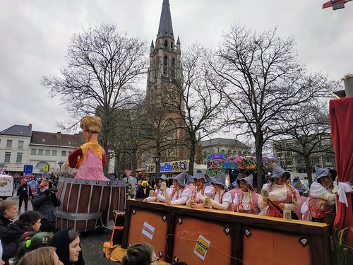 Carroza en Aalst con tema de Oktoberfest | by Erasmusenflandes