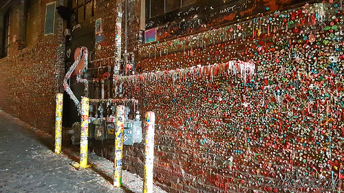 Seattle Washington travelblog duesiblog 25 Gum Wall | by duesiblog