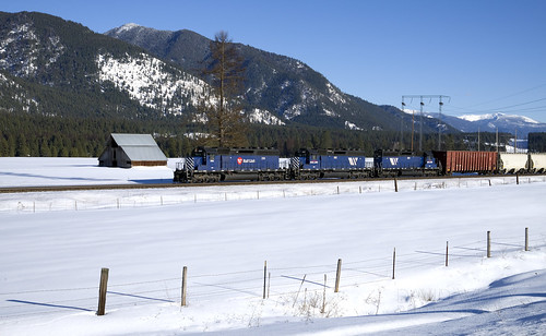 montanaraillink railroad nikon d610 train photography elelctromotivedivision sd402 emd mrl freight