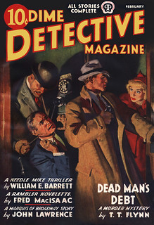 Dime Detective v26 n03 [1938-02] cover | by Siren in the Night