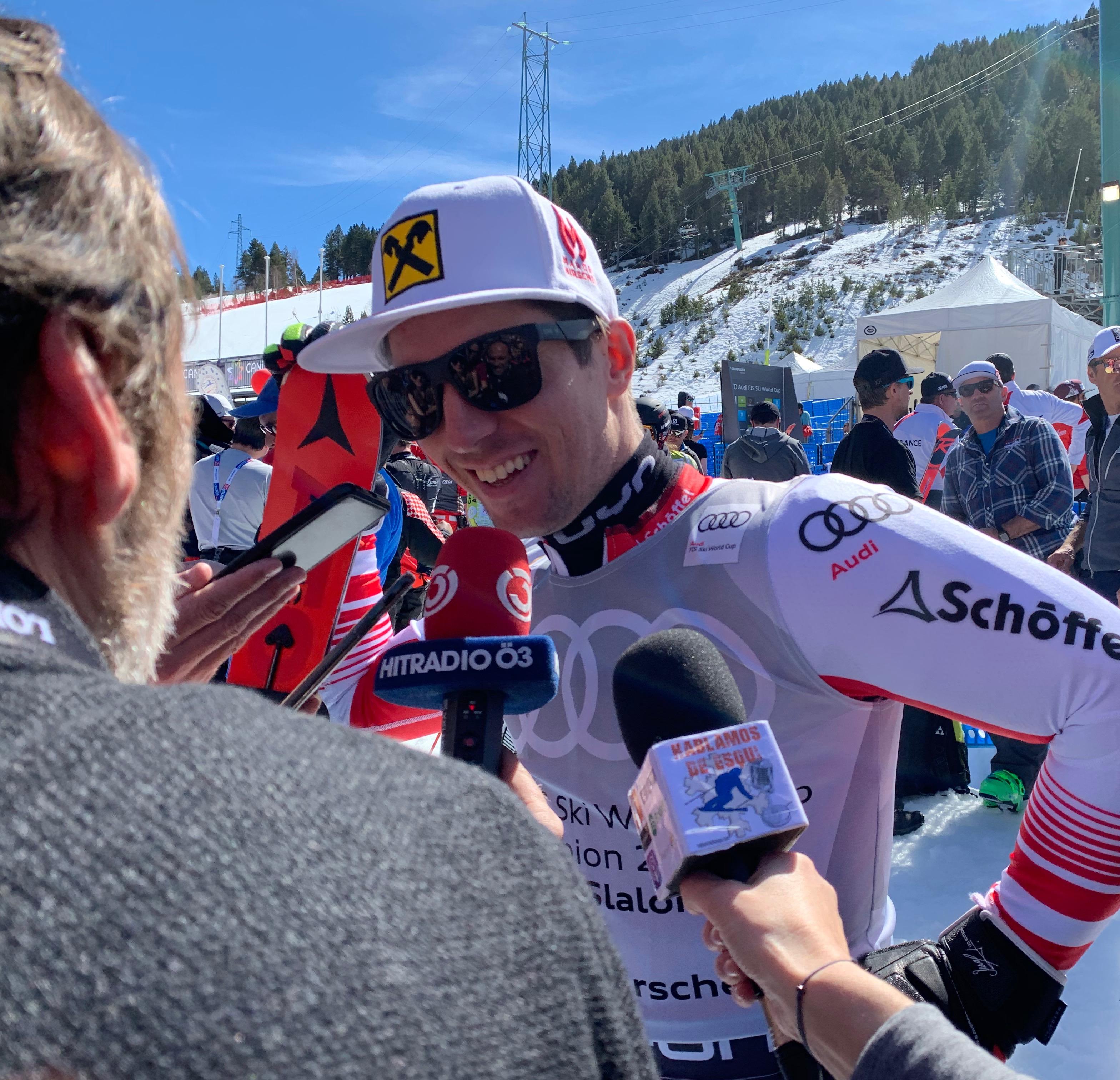 Marcel Hirscher para Hablamos de esquí