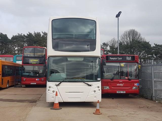 My Two Motors - Arriva London DLA210, W438WGJ , ADL Demostrator (DD34) Enviro500 & Abellio London 8065, SK02TZN | Bromley Bus Preservation Group