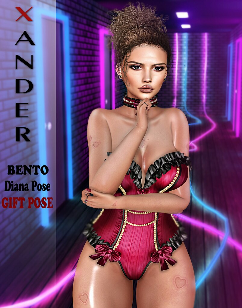 Xander - Diana Bento Pose Gift #2 #NEW - TeleportHub.com Live!