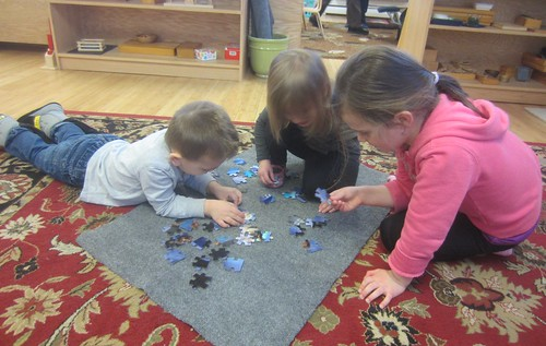 Elsa & Anna puzzle