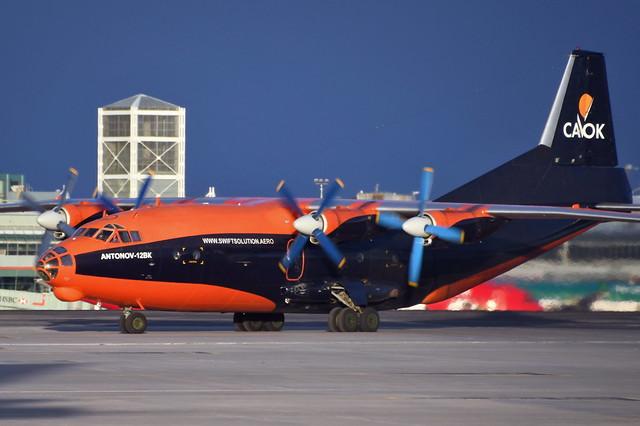 UR-CKL Antonov An-12BK at CYYZ