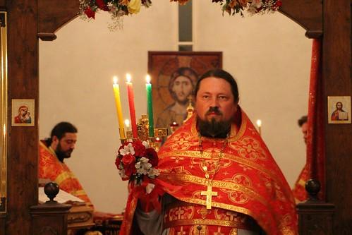 Пасхальное Богослужение в Свято-Никольском храме станицы Кавказской IMG_1478